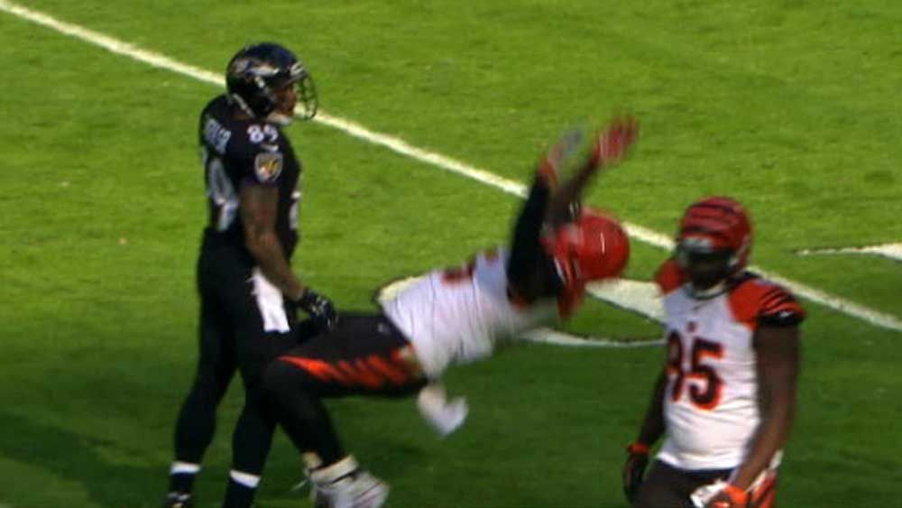 NFL star commits worst dive in sport