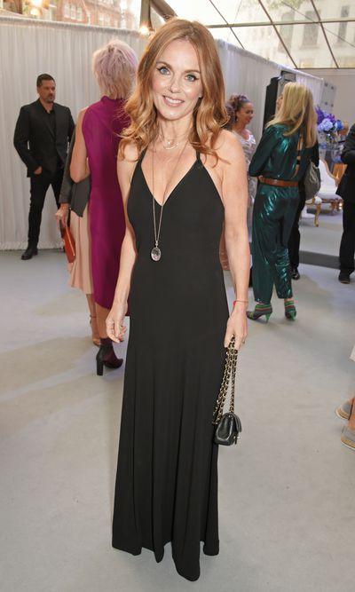 Geri Halliwellat the Glamour UK Awards, 2017.