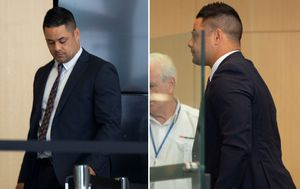 Jarryd Hayne quizzed on intensity of encounter, $50 note at sexual assault trial
