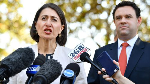 The corridors are planned for the Outer Sydney Orbital, North-South rail line, Western Sydney freight connection and Bells Line of Road to Hassal Grove Motorway plans. Picture: AAP.