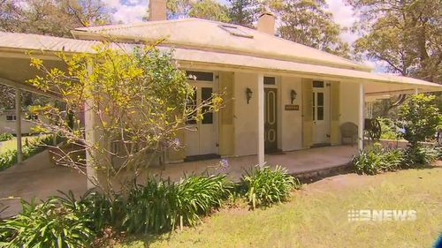 The home has been owned by the Bates family for the past 30 years. (9NEWS)