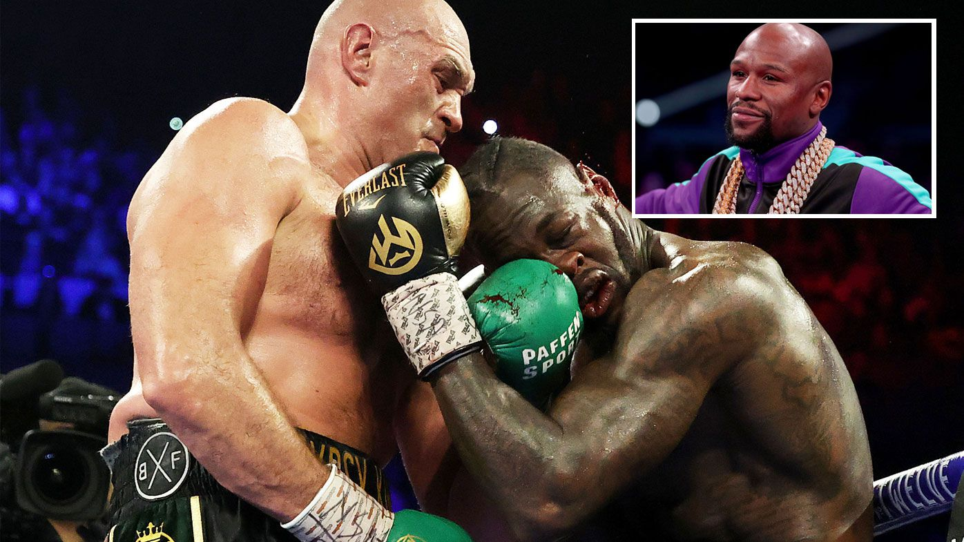 Floyd Mayweather thinks he can be of use to Deotnay Wilder in his Tyson Fury rematch (Getty)