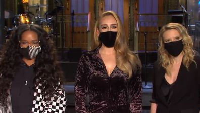 Adele teases Saturday Night Live appearance.