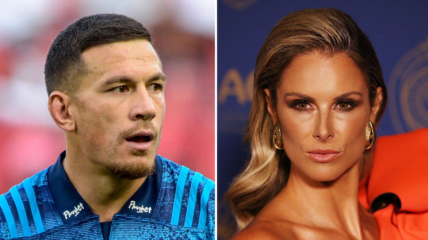 Sonny Bill Williams (left) and Candice Warner
