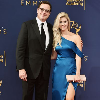 <strong>Bob Saget, 62, and Kelly Rizzo, 39</strong>