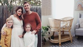 Blockheads Hannah and Clint welcome new baby and show off gorgeous nursery