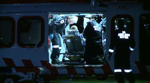 'So much blood': Man's finger hacked off with machete in Mornington Peninsula