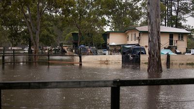 While Deception Bay did not experience the full force of Cyclone Marcia, it has experienced flooding. (Supplied: Olya Hilton)