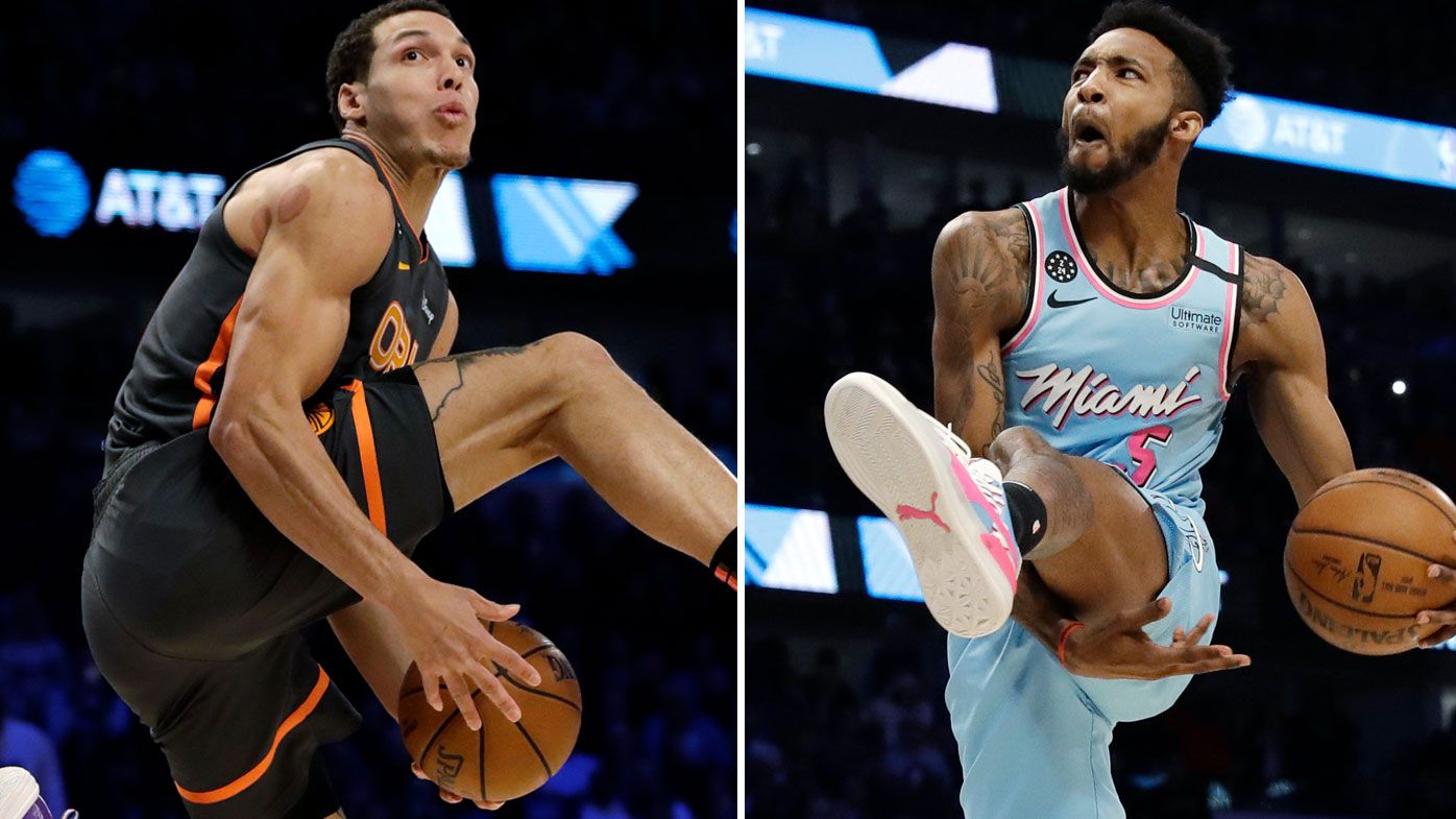 'This is highway robbery': NBA Slam Dunk Contest thriller marred by scoring controversy