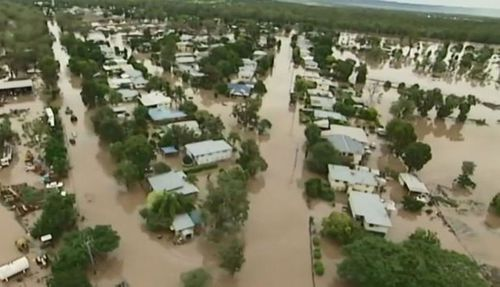 Three hundred people were airlifted out of Theodore during one of Queensland's largest ever evacuation efforts.