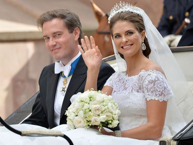 Princess Madeleine of Sweden's wedding to Chris O'Neill