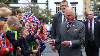 Prince Charles visits Farmers' Markets, September 2018
