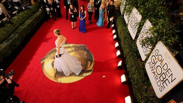 This year interviewers on the red carpet are being pushed to ask women for interesting questions. (Getty)