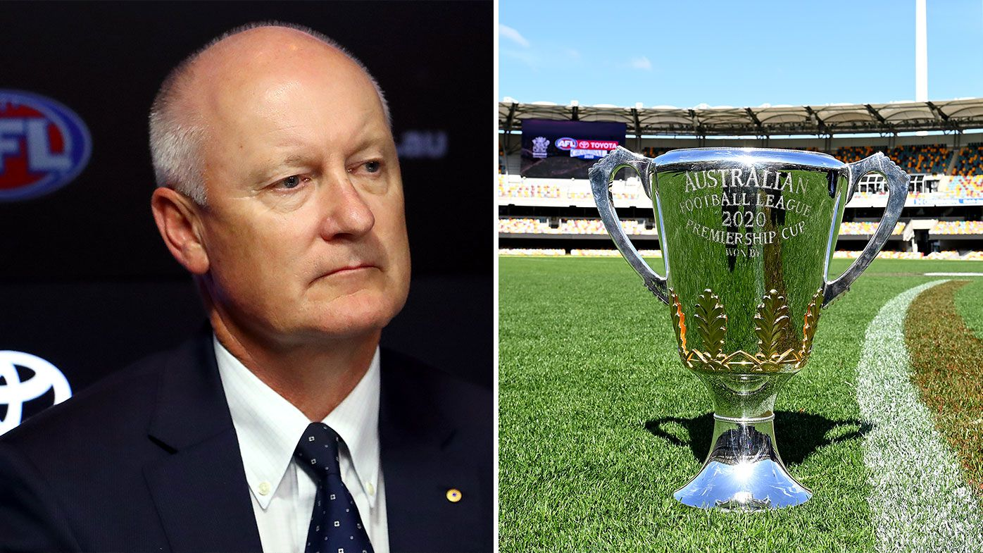 AFL Chairman Richard Goyder has priorities wrong, says Caroline Wilson