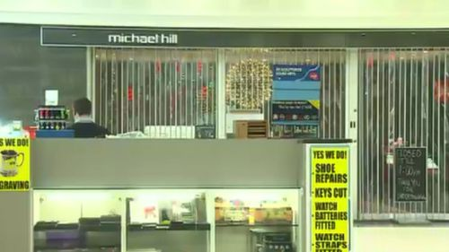 Several items were stolen from the Michael Hill jewellery store. (9NEWS)