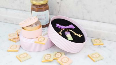 Ladurée's famous luxe packaging