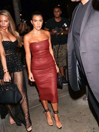 Kourtney Kardashian in July 2018
