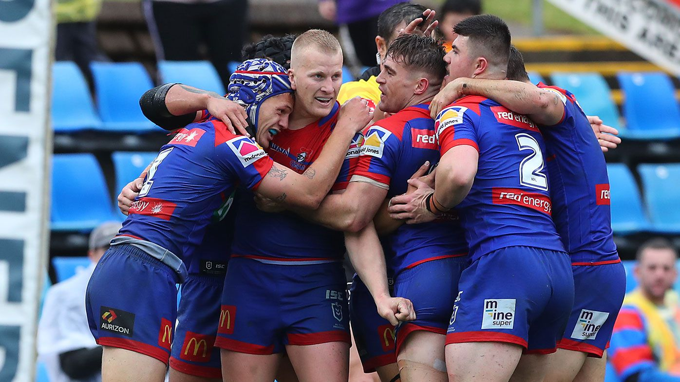 Knights end horror fortnight with rout of Titans