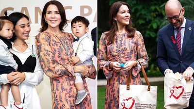 Princess Mary visits Indonesia, December 2019