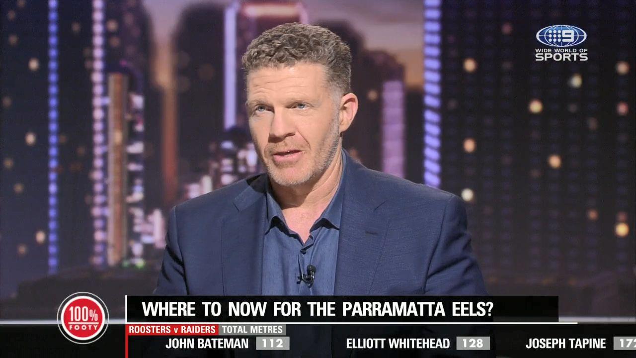 Parramatta Eels tell Blake Ferguson he won't be at the club beyond 2021: report