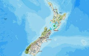 Second earthquake hits New Zealand