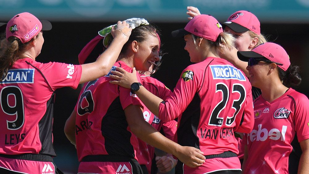 The Sydney Sixers WBBL team, (AAP)