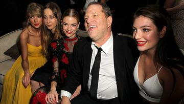 Recording artist Taylor Swift, musician Este Haim, actress Jaime King, producer Harvey Weinstein and recording artist Lorde attend The Weinstein Company & Netflix's 2015 Golden Globes After Party.
