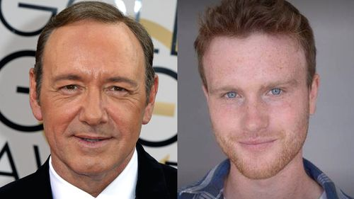 Kevin Spacey (left) has been accused of groping by Harry Dreyfuss (right). (AAP, Facebook)