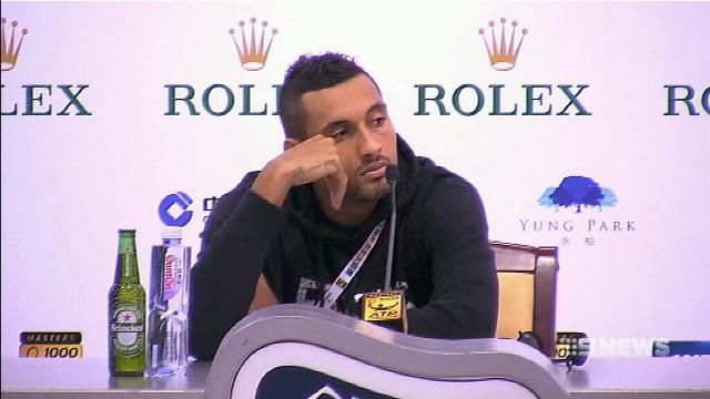Nick Kyrgios fined, avoids suspension