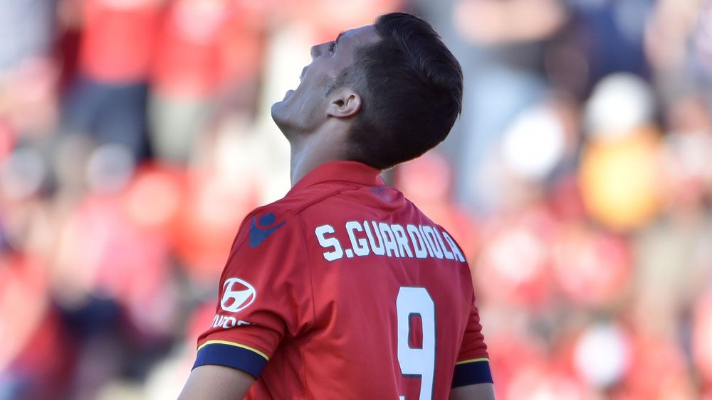 Sergio Guardiola and Adelaide United are in a slump. (AAP)