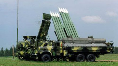 A BUK mark 1 surface to air launcher.