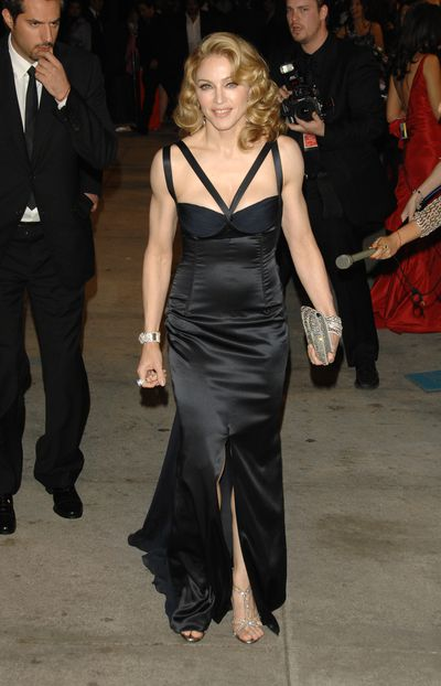 Madonna inDolce & Gabbana at the 2007 Vanity Fair Oscar Party in Los Angeles