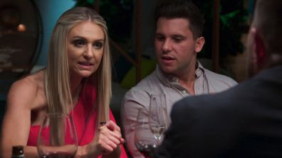 Joanne blasts James in a heated clash at the Dinner Party
