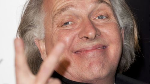 Mayall goofing around in front of the cameras in 2011. (Getty)