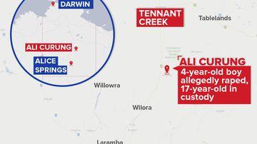 Boy, 4, allegedly raped in remote NT community