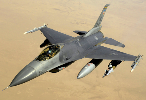 US aircraft sales company Jet Lease has listed a fully operational F-16 fighter jet for A$12.5 million.