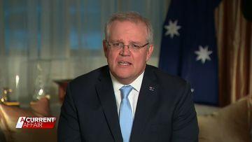 Prime Minister Scott Morrison on Australia's job future