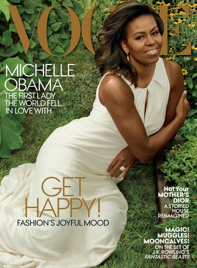 Michelle Obama for <em>US Vogue </em>October 2016