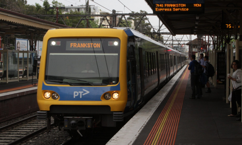 More than 9500 trains have been cancelled on the Frankston line in the last 10 years. (9NEWS)