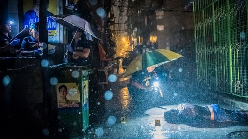 Thousands of people have been killed without trial in the Philippines since President Rodrigo Duterte started waging his brutal war on drugs. (AAP)