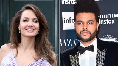 The Weeknd and Angelina Jolie.