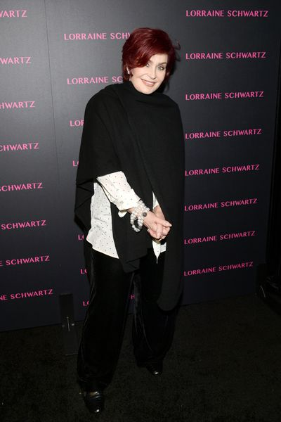 Sharon Osbourne at Lorraine Schwartz 'The Eye Bangle' for Against Evil Eye Collection launch in Los Angeles