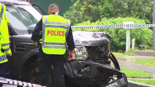 The vehicle Dylan was riding in struck a Land Rover on The Esplanade at Thornleigh.