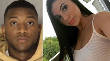 Student Alina Sheykhet, right, who was found dead in her home, and ex-boyfriend Matthew Darby (AP/Facebook)