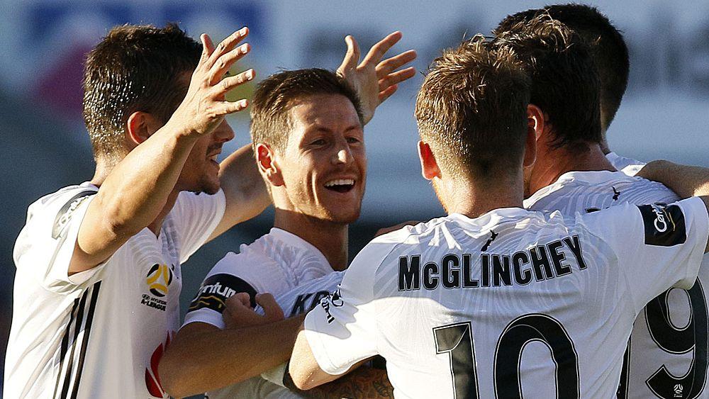 A-League: Wellington Phoenix stun Newcastle Jets at home
