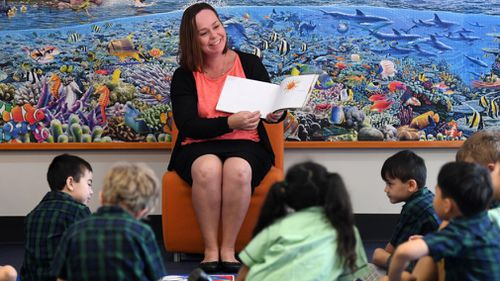 An expert panel found there was no nationally consistent early testing for Year 1 students. (AAP)