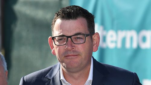 Victorian Premier Daniel Andrews addresses the media during a press conference on December 12. (AAP)