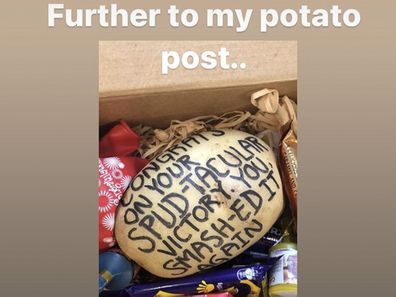 Jacinda Ardern's potato fan mail