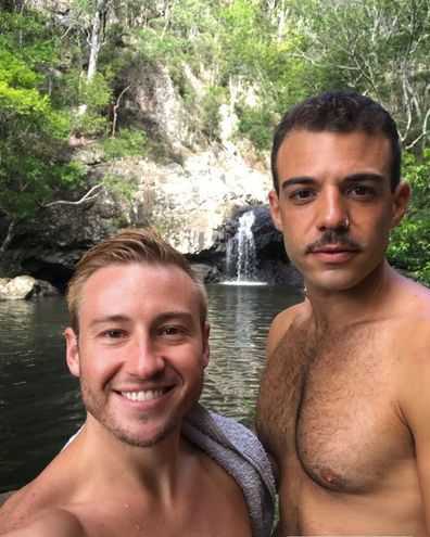 Matthew Mitcham and Luke Rutherford