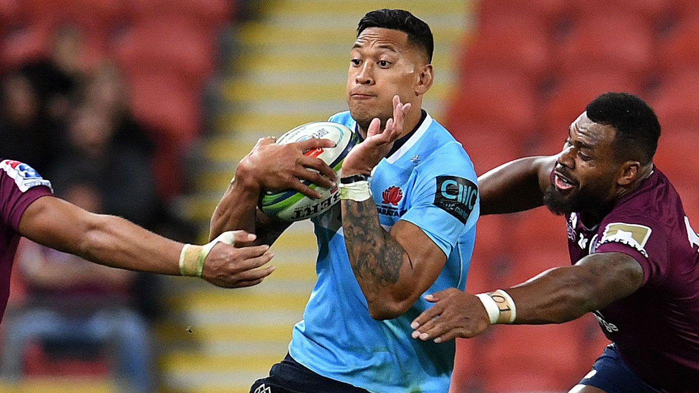 Tahs outgun Reds in 15-try rugby shootout